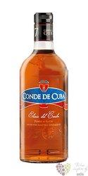 """Conde de Cuba """" Elixir del Caribe """" dulce rum of Dominican republic 34% vol.   0.70 l"""