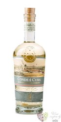 Conde de Cuba aged 3 years rum of Dominican republic 38% vol. 0.70 l