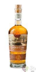 Conde de Cuba aged 7 years rum of Dominican republic 38% vol. 0.70 l