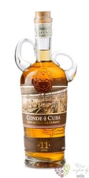 Conde de Cuba aged 11 years rum of Dominican republic 38% vol.  0.70 l