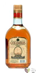"Columbus "" Ańejo "" aged 7 years rum of Dominican republic 37.5% vol.    0.70 l"