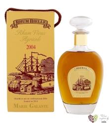 """Bielle agricole vieux 2004 """" Brut de fut """" aged vintage rum of Guadeloupe 45% vol.   0.70 l"""