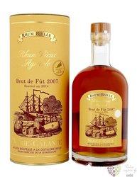 """Bielle agricole vieux 2007 """" Brut de fut """" aged vintage rum of Guadeloupe 57.3%vol.   0.70 l"""