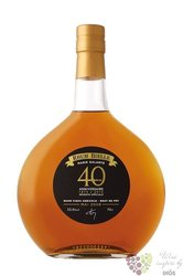 "Bielle agricole vieux 2008 "" 40th Anniversary "" rum of Guadeloupe 43.4% vol.   0.70 l"