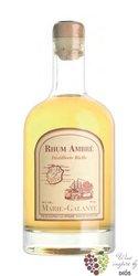 """Bielle agricole """" Ambré """" gold rum of Guadeloupe Marie Galante 50% vol.    0.50l"""