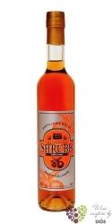 """Bielle agricole """" Shrubb orange """" rum based liqueur of Guadeloupe 40% vol.   0.50 l"""