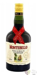"""Montebello agricole vieux """" 6 ans """" aged rum of Guadeloupe 42% vol.   0.70 l"""