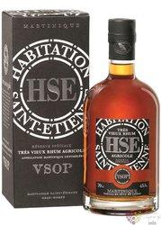 """HSE Saint Etienne agricole tres vieux """" VSOP """" aged rum of Martinique 45% vol. 0.70 l"""