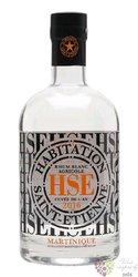 """HSE Saint Etienne agricole blanc 2000 """" cuvée de l´an """" rum of Martinique 50% vol.  0.70 l"""