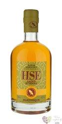 """HSE Saint Etienne agricole vieux """" Elevé sous Bois """" rum of Martinique 42% vol.0.70 l"""