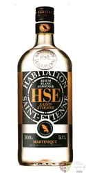 HSE Saint Etienne agricole blanc white rum of Martinique 50% vol.    1.00 l