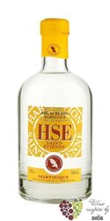 HSE Saint Etienne agricole blanc white rum of Martinique 50% vol.    0.05 l