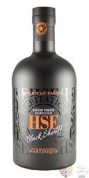 """HSE Saint Etienne agricole vieux """" Black Sheriff """" USA cask finish rum of Martinique 40% vol.0.70 l"""