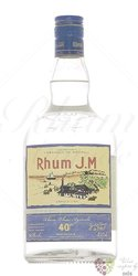 J.M agricole blanc white rum of Martinique 40% vol.    1.00 l