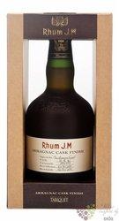 """J.M agricole vieux """" Armagnac Tariquet cask finish """" aged rum of Martinique 41.5% vol.  0.50 l"""