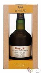 """J.M agricole vieux """" Calvados Lecompte cask finish """" aged rum of Martinique 40.8% vol.  0.50 l"""
