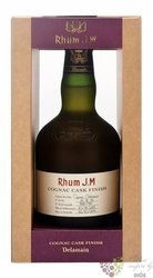 "J.M agricole vieux "" Cognac Delamain cask finish "" aged rum of Martinique 40.5%vol.  0.50 l"