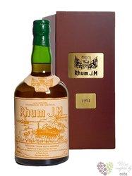 J.M agricole vieux 1995 vintage rum of Martinique 44,8% vol.    0.70 l