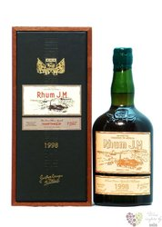 J.M agricole tres vieux 1998 vintage aged 15 years rum of Martinique 43.7% vol.0.70 l