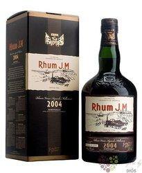 J.M agricole vieux 2004 vintage rum of Martinique 44.3% vol.  0.70 l