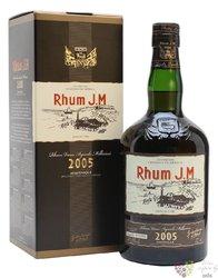 J.M agricole vieux 2005 vintage rum of Martinique 43.8%0.70l