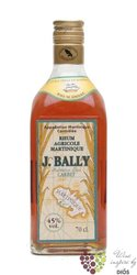 "J.Bally agricole "" Ambre "" aged rum of Martinique 45% vol.  0.70 l"