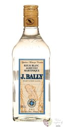 "J.Bally agricole "" Blanc "" white rum of Martinique 50% vol.  0.70 l"