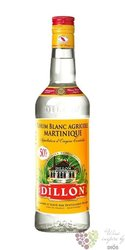 Dillon agricole blanc white rum of Martinique 50% vol.     0.70 l