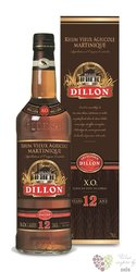 "Dillon agricole vieux "" XO "" aged 12 years rum of Martinique 45% vol. 0.70 l"