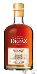 "Depaz agricole vieux "" VS Plantation Martinique "" aged rum of Martinique 45% vol. 0.70 l"