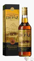 """Depaz agricole vieux """" Plantation de la Montagne Pelée """" aged rum of Martinique45% vol.   0.70 l"""