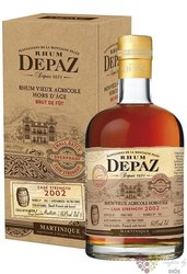 "Depaz agricole vieux 2002 "" Over Proof "" aged rum of Martinique 64.9% vol.  0.70 l"