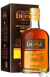 """Depaz agricole vieux 2003 """" Hors d´Age Millesimes """" aged Martinique rum 45% vol.  0.70 l"""