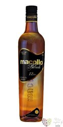 "Macollo "" Black "" aged 12 years Mexican rum 38% vol.     0.70 l"