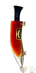 Coronation Khukri XXX knife design gift box aged rum of Nepal 42,8% vol.    0.375 l