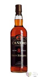 """Caňero """" Grand reserva """" aged 8 years Nicaraguan rum 40% vol.   0.70 l"""