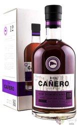 "Caňero "" Sherry Cream cask "" aged 12 years Dominican rum 40% vol.  0.70 l"