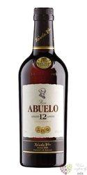 "Abuelo "" Aňejo 12 aňos "" aged Panamas rum 40% vol.  1.00 l"