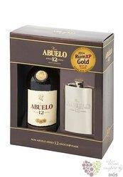 "Abuelo "" Aňejo 12 aňos "" flask pack aged Panamas rum 40% vol.    0.70 l"
