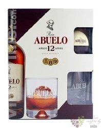 "Abuelo "" Aňejo 12 aňos "" glass pack aged Panamas rum 40% vol.  0.70 l"