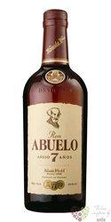 "Abuelo "" Aňejo 7 aňos "" aged Panamas rum 37.5% vol.  1.00 l"