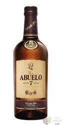 "Abuelo "" Aňejo 7 aňos "" aged Panamas rum 40% vol.     0.05 l"
