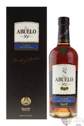 "Abuelo Xv finish collection "" Tawny porto "" Panamas rum 40% vol.  0.70 l"