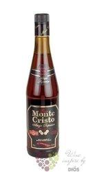 """Monte Cristo """" Aňejo Superior """" caribbean aged rum by Peréz Barquero  37.5% vol.   0.70 l"""