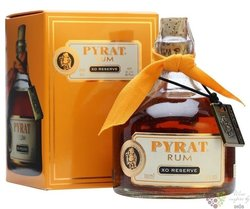 "Pyrat "" XO Reserve "" gift box unique rum of Anquila 40% vol.  0.70 l"