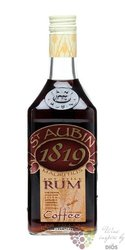 "st.Aubin "" Coffee "" flavored rum of Mauritius 40% vol.   0.50 l"