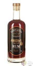 """st.Aubin """" Black """" rum of Mauritius 40% vol.   0.70 l"""