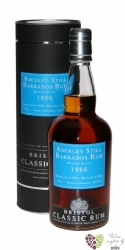 "Bristol Classic "" Rockley Still Barbados "" 1986 rum of Delicious 40% vol.  0.70l"