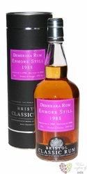 "Bristol Classic "" Enmore Still "" 1988 aged rum of Guyana by Demerara 43% vol. 0.70 l"