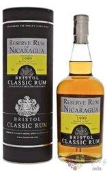 """Bristol 1999 """" Réserve of Nicaragua """" aged rum 43% vol.  0.70 l"""
